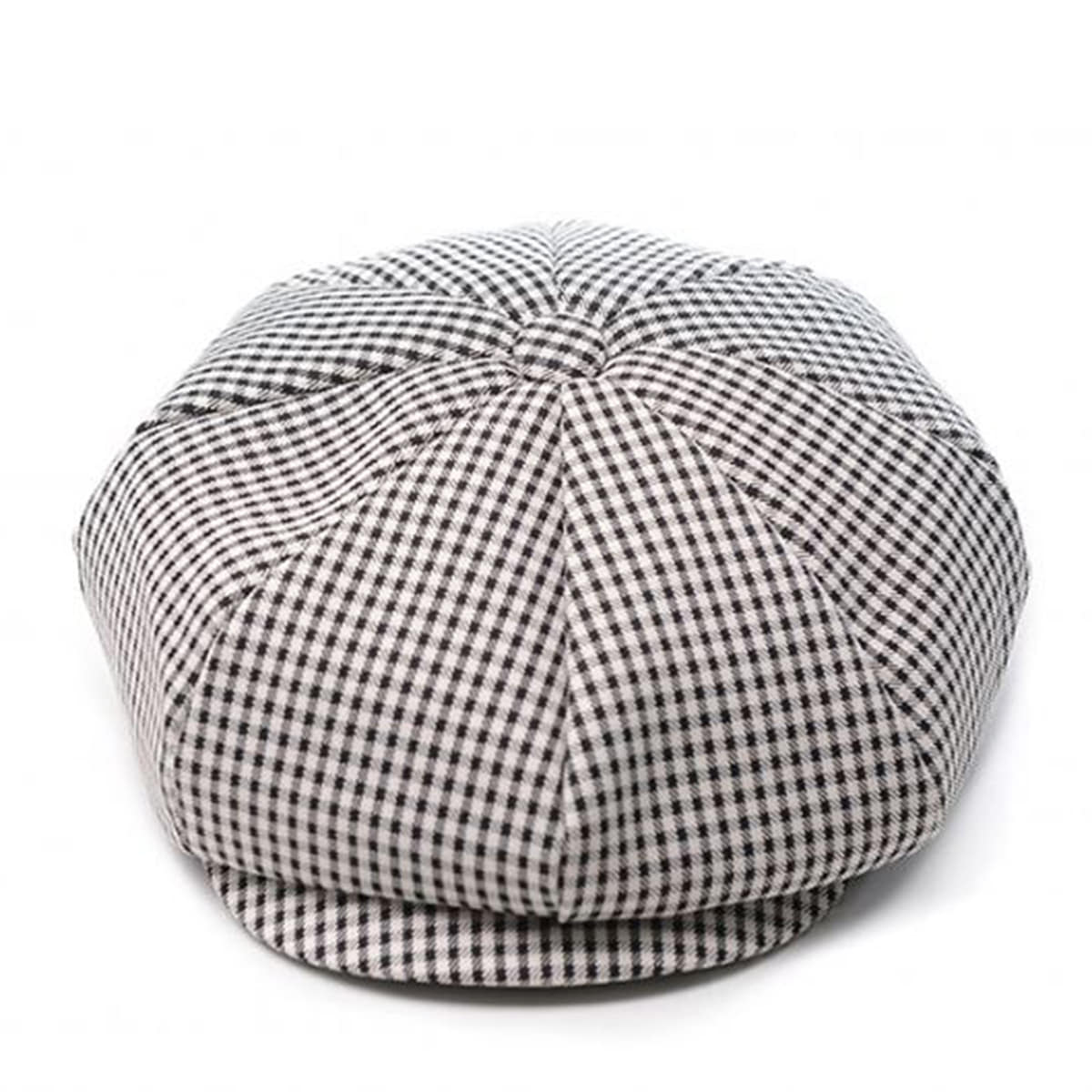 Millionairehats - (Rayon gingham check 3pack)- CLASSIC BIG APPLE HAT